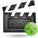 video plus Png Icon