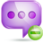 chat 2 minus large png icon