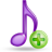 music plus large png icon