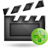 video plus large png icon