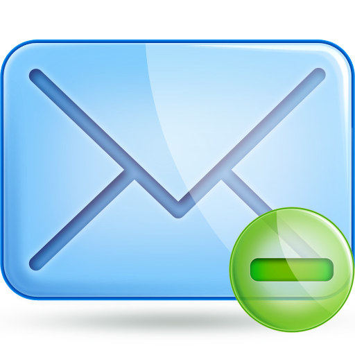 mail minus large png icon