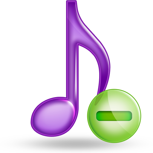music minus large png icon