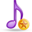 music fav large png icon