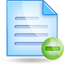 notepad minus large png icon