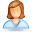 user female large png icon