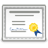 certificate large png icon