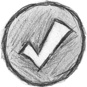 check on Png Icon