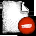 file delete Png Icon
