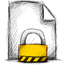 file locked Png Icon