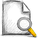 file search Png Icon