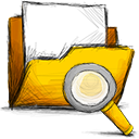 folder search Png Icon