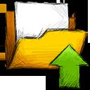 folder upload Png Icon