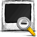 photo zoom out Png Icon