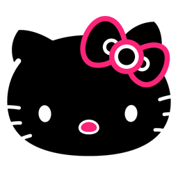 Icons in Hello Kitty