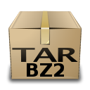 application x bzip Png Icon