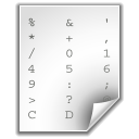 ascii Png Icon