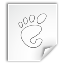 gnome mime application Png Icon