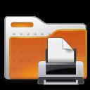 human folder print png icon