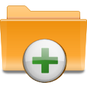 kde add folder to archive Png Icon