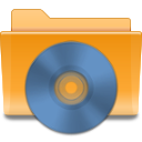 kde folder cd Png Icon