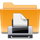 kde folder print Png Icon