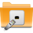 kde folder remote png icon