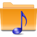 kde folder sound Png Icon