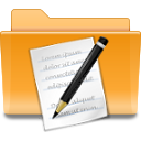 kde folder txt png icon