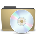 manilla folder cd png icon
