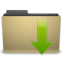 manilla folder downloads Png Icon