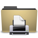manilla folder print png icon