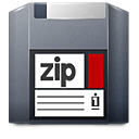 media zip Png Icon