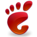 start here gnome red Png Icon