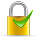 stock lock ok png icon