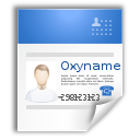 business card png icon