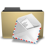 manilla folder mail large png icon