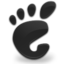 black large png icon