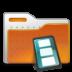 human folder video large png icon