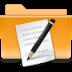 kde folder txt large png icon