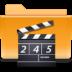 kde folder video large png icon