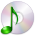 media optical audio large png icon