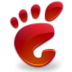 start here gnome red large png icon