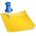 sticky notes large png icon