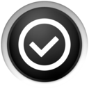 Inward Black Go Png Icon