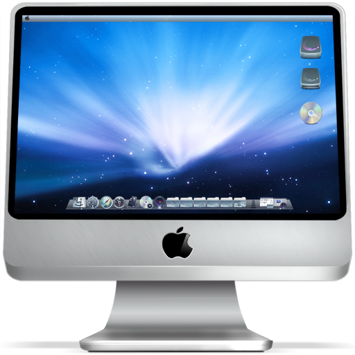 imac on large png icon