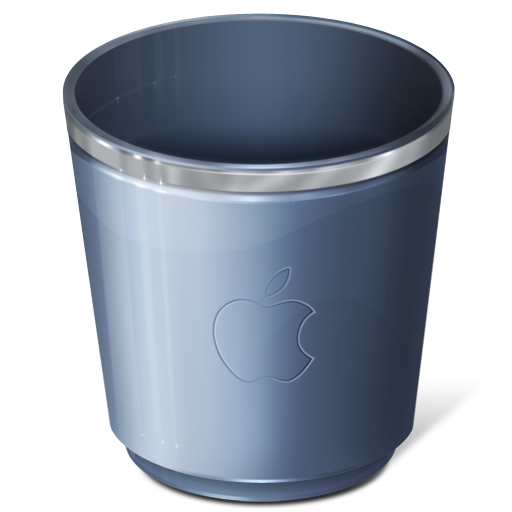 Trash Can Vector Waste Basket And Bin Garbage Icons Gm