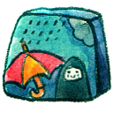 rainy png icon
