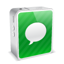 iphone 4 mini white 04 Png Icon