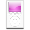 iPod Magenta Png Icon