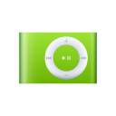 iPod Shuffle Green large png icon